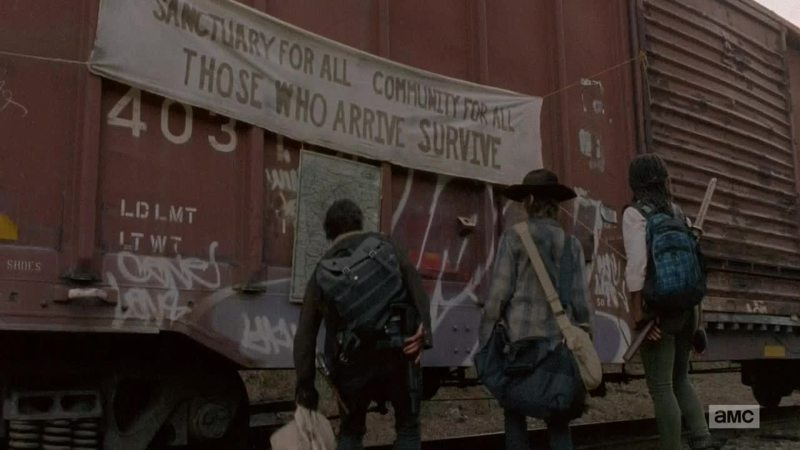Rick, Michonne and Carl are a great team. Can't wait for them to find out that Judith is still alive
