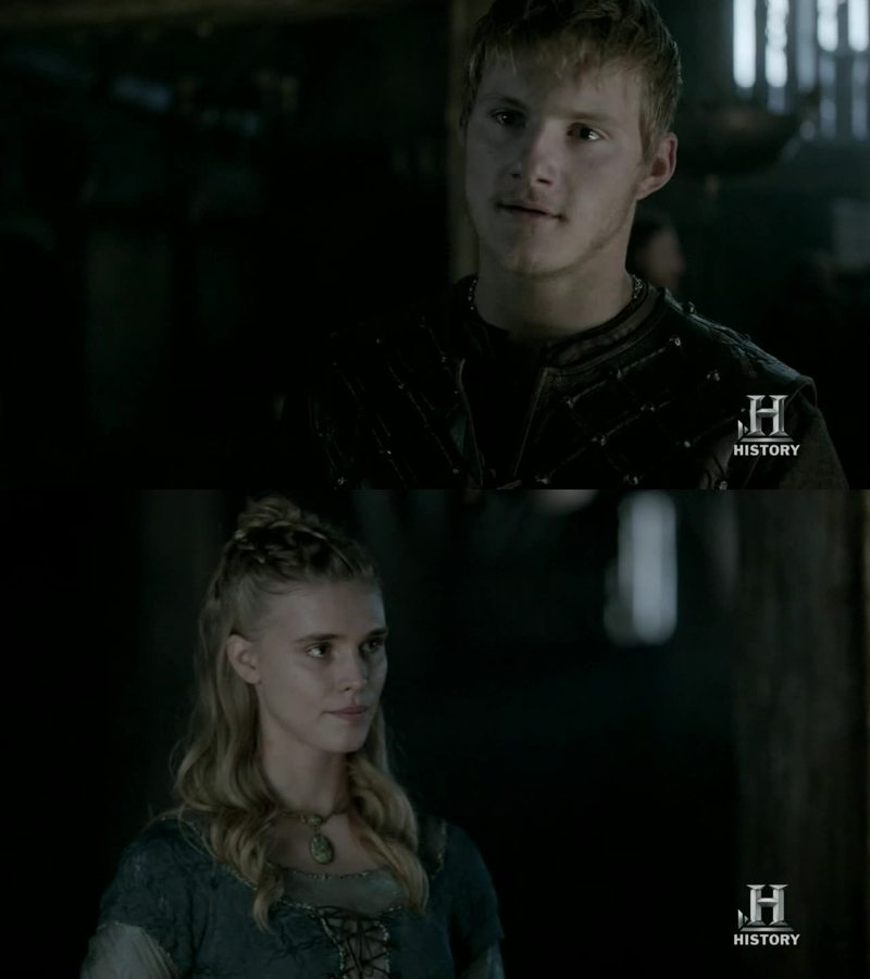 Ragnar and Lagertha before everything hshsd❤