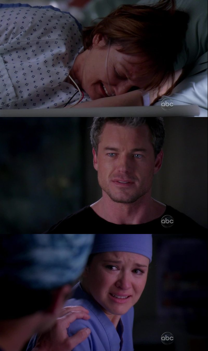 Grey's anatomy doesn't get tired of breaking my heart 😭
