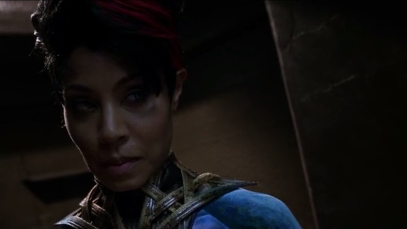 You see the look in her eyes? It's the look of someone aware of their power and that's exactly why I love this character. I hope she doesn't die in the next episode so we can have her as a regular in the third season. THE REAL QUEEN OF GOTHAM IS BACK BITCHES ❤❤❤