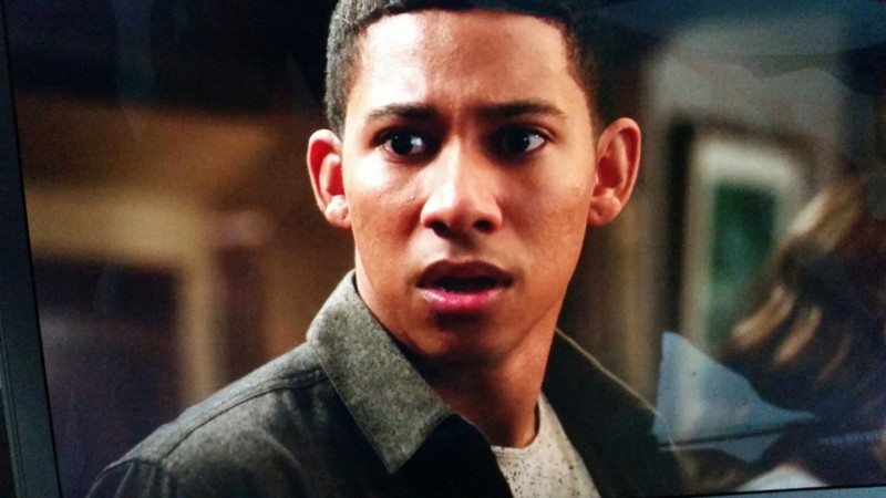 Wally's face when Barry ran out of the room! #priceless
