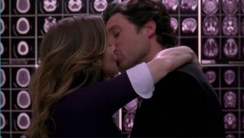 You say you're all dark and twisty. It's not a flaw, it's a strength. It makes you who you are. I'm not gonna get down on one knee, I'm not gonna ask a question. I love you Meredith Grey, and wanna spend the rest of my life, with you. - Derek Shepherd.