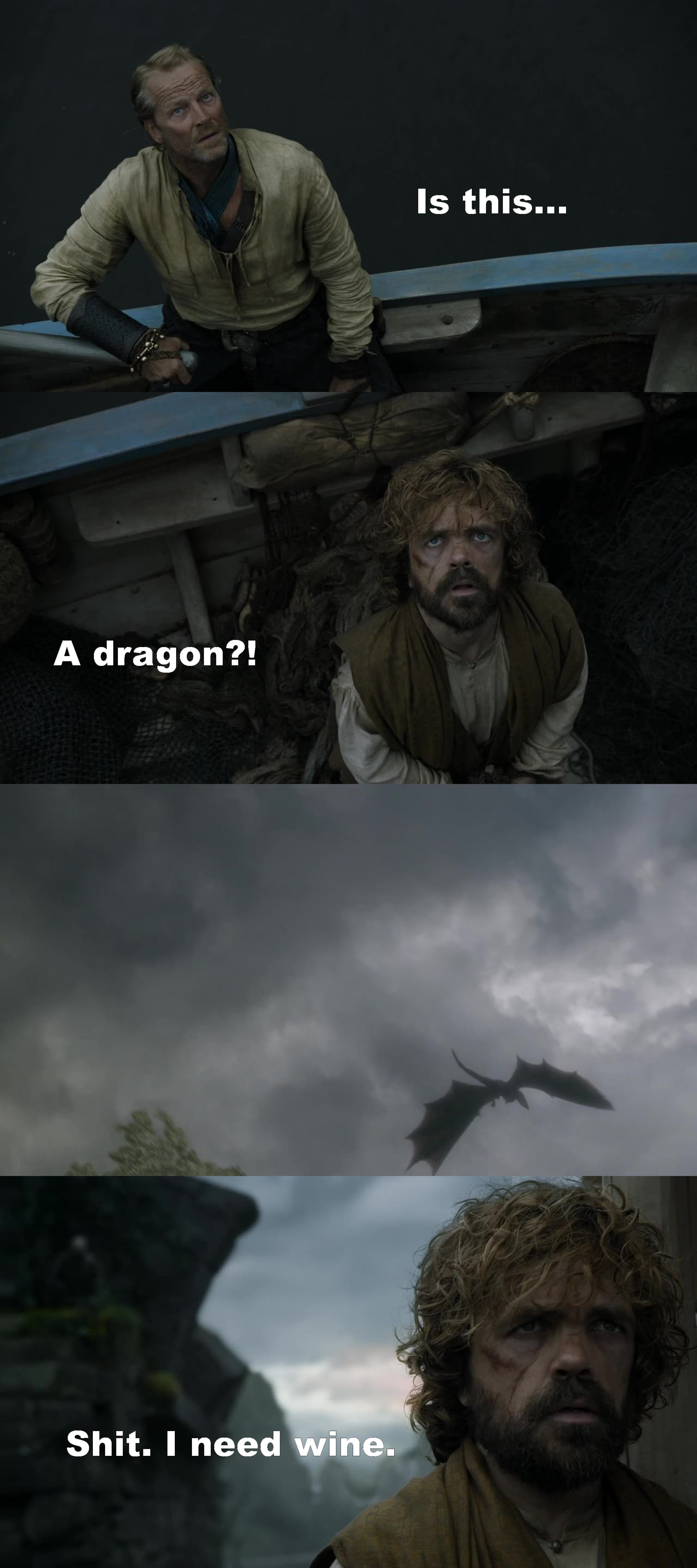 No you don't need some. You're right. It's a dragon.