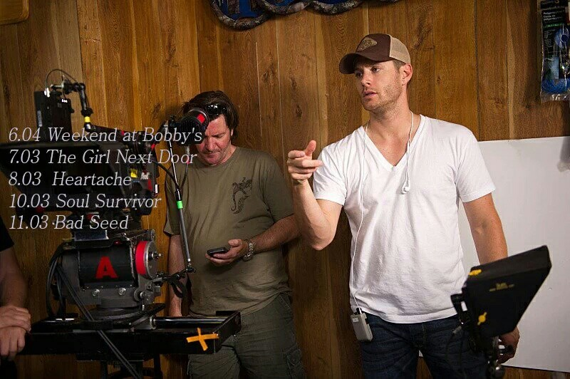 Jensen is an amazing director👍