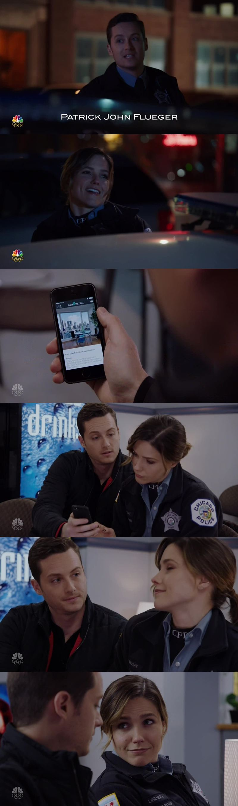 How cute are they?! Arguing about Jay's new house, and Jay taking care of Erin... 😍😍 #Linstead love is in the air... ❤❤❤❤