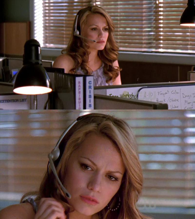 Haley elle est quand même passer de prof de littérature au lycée à meuf qui répond au téléphone quand même
