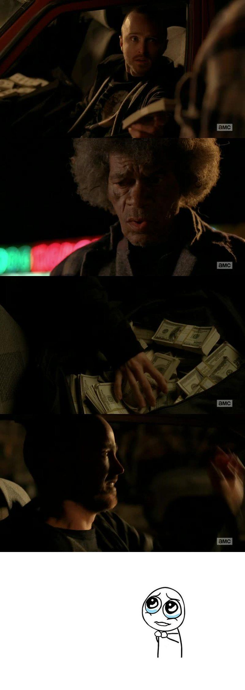 Jesse blames himself about everything when it actually is Walter's fault. Hank was really good in putting all the pieces together and the fight with Walt was one of the best scenes of the series.