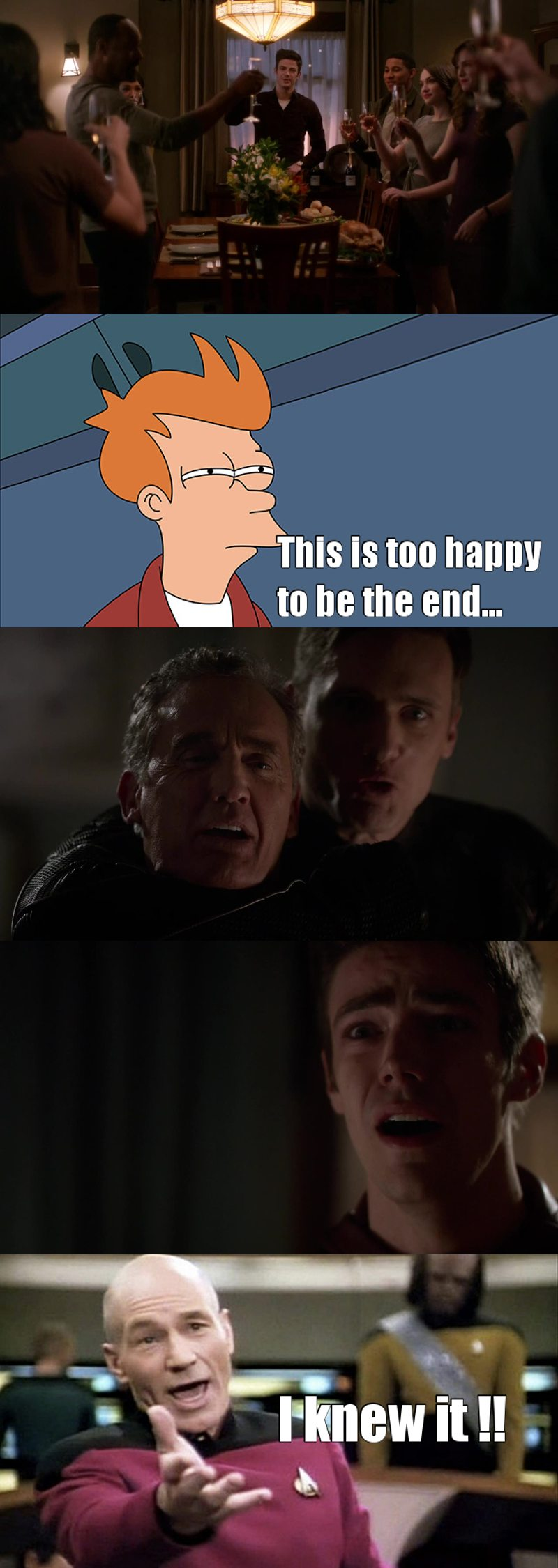This ending was too perfect to be true.... My poor Barry.... 💔😭 I think the season final is gonna kill me....