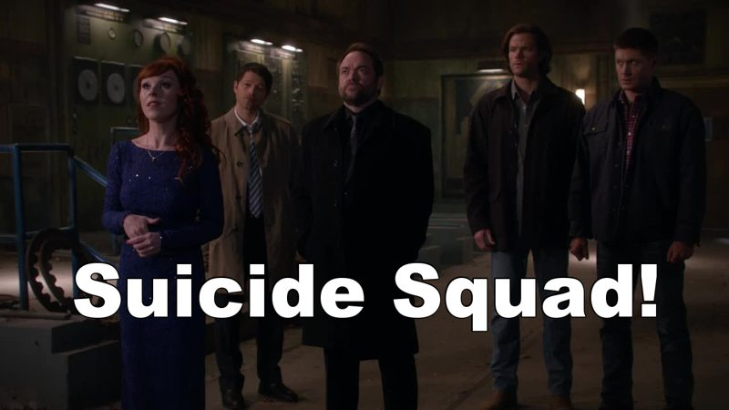 The winchesters and the bad guys team ! 😈👊