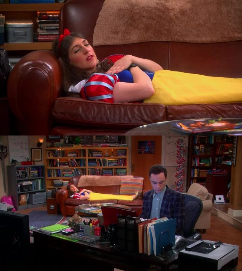 Omg i can't stop laughing 😂 Sheldon is impossible 😂