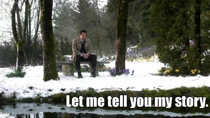Narrated by Castiel. Men, this episode challenged my emotions.