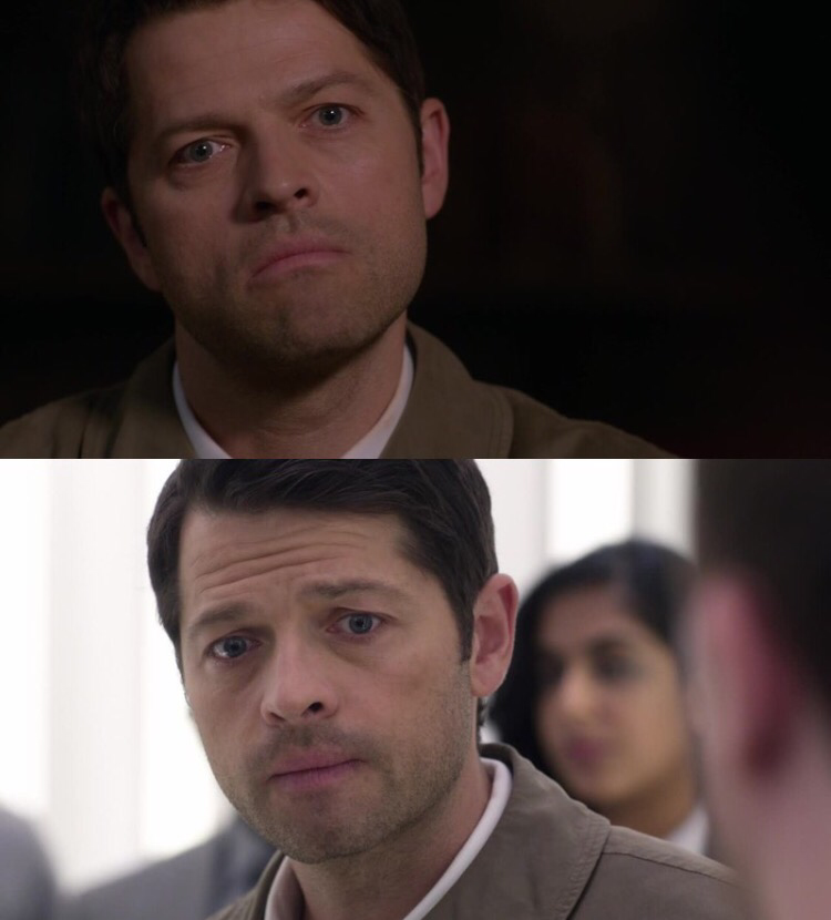 Okay but can we appreciate Misha's acting??