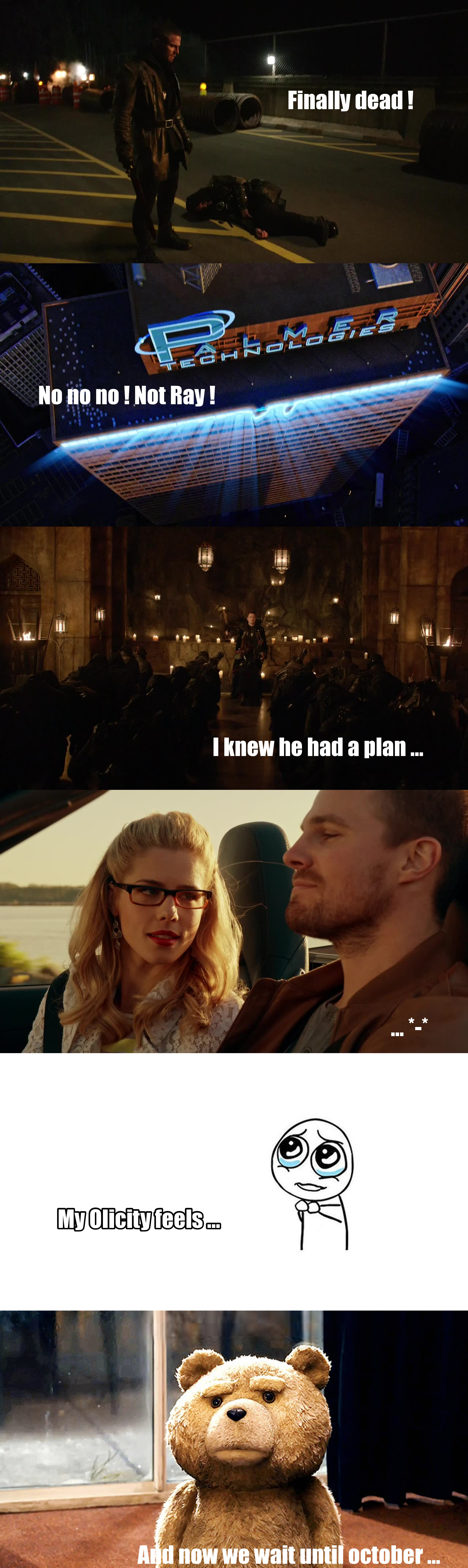 Arrow feelings ...