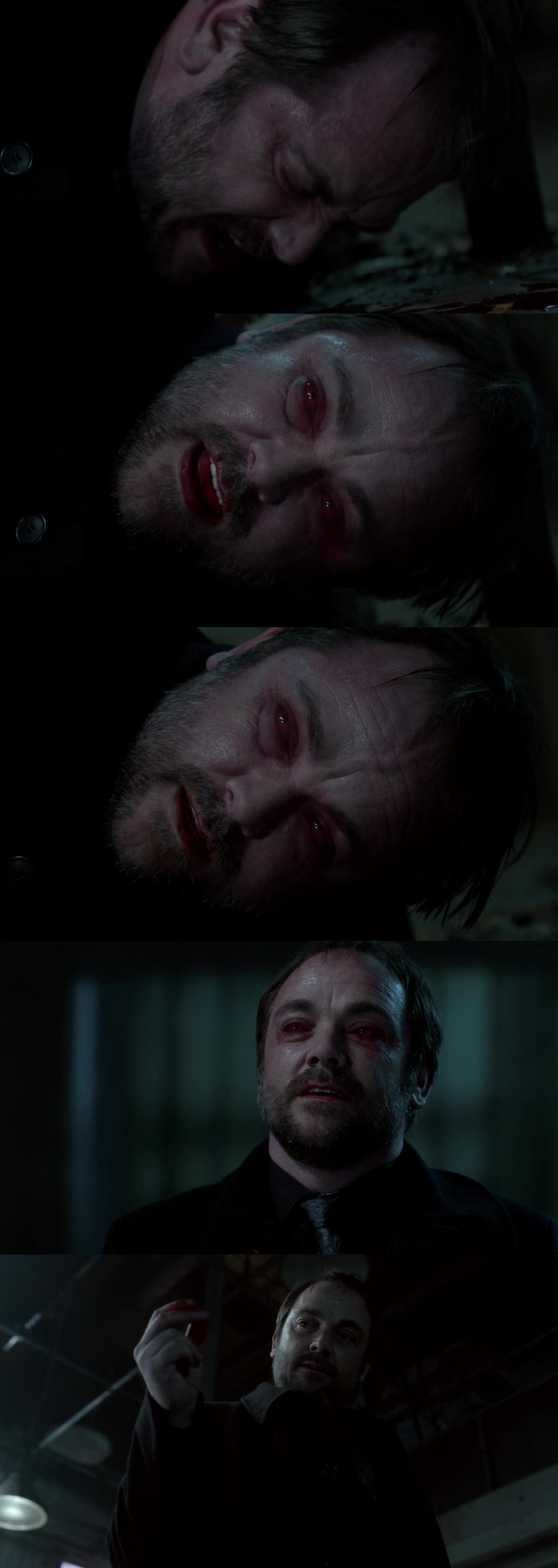 the bloody King of Hell is finally back!!!! so happy! I missed badass!Crowley