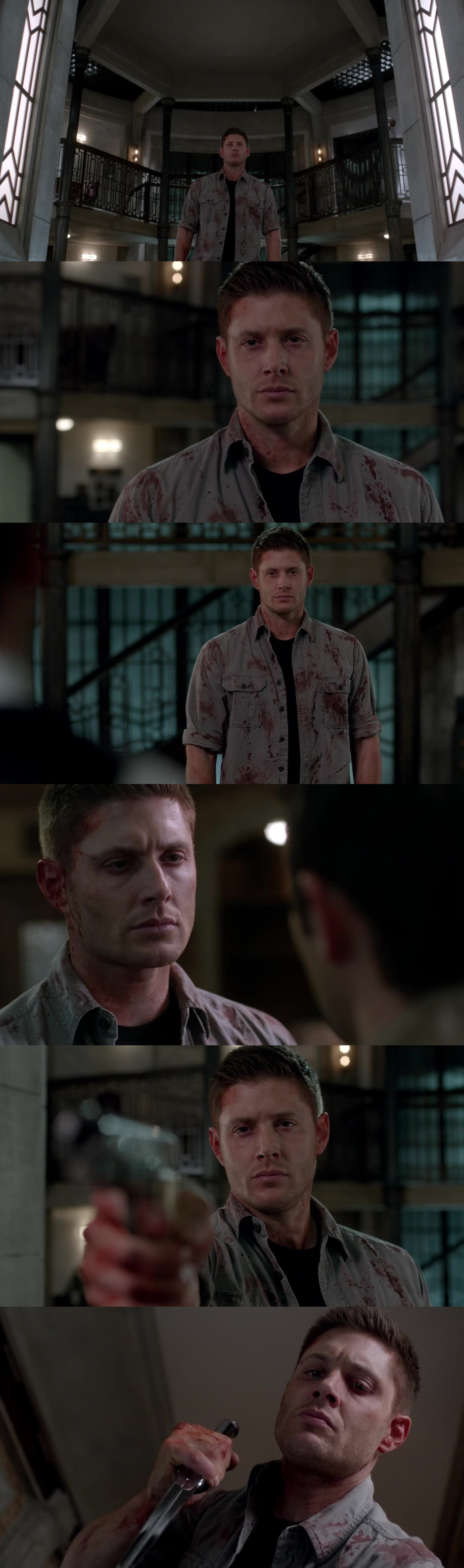 awesome episode! overwhelming! Jensen was terrific!!!! it's always great to have Dark!Dean back in unstoppable-dark-killer mode on!