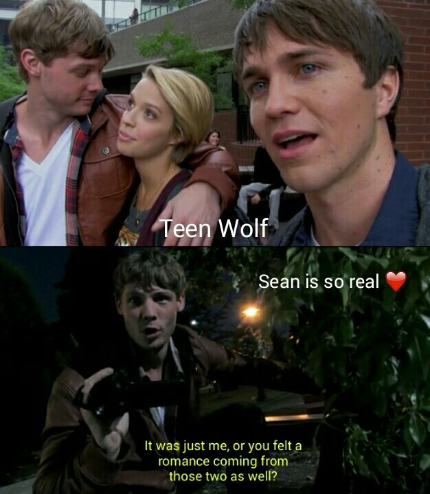 Sean is so real 😂 they're just like a couple