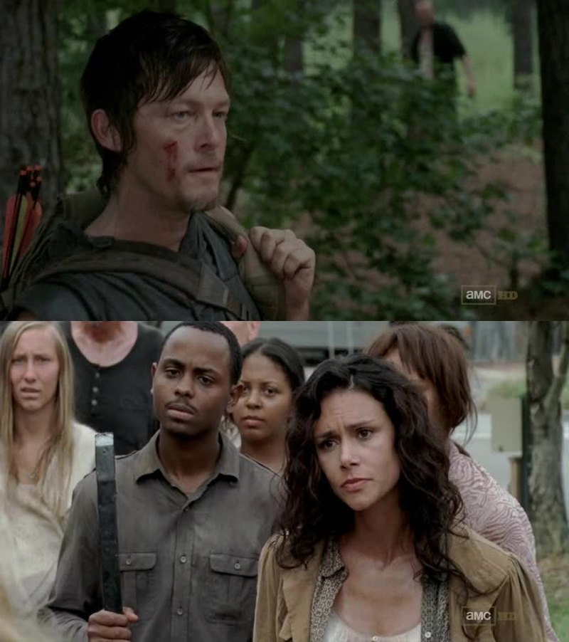 Daryl reviiiiiiiiens D: Maman McCall 😳❤