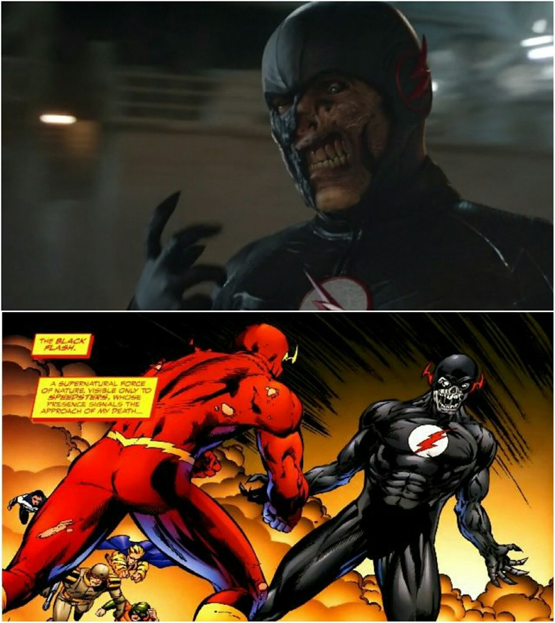 the moment you realize the black flash showed up