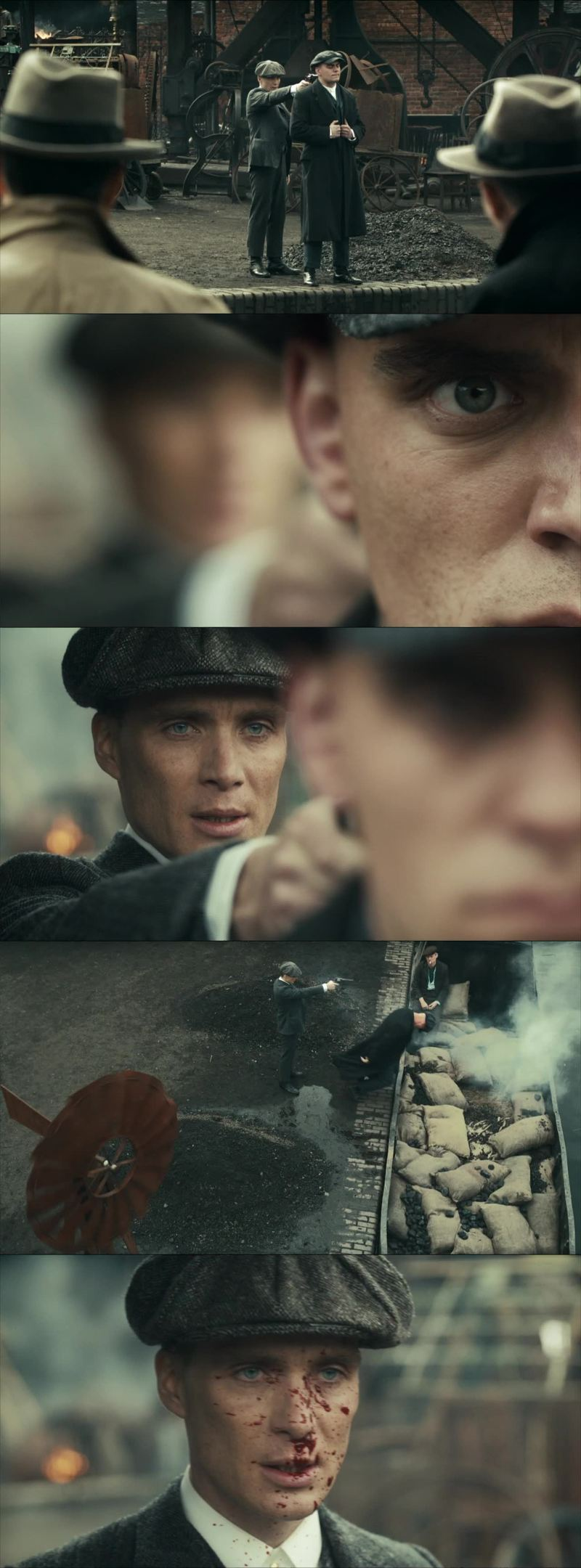 This was a promising Pilot. The photography of this series is amazing, it really set us in this 1919 mood. The acting is excellent.   The story was good, but it felt like a big prologue, setting the tone of what's to come. We can see Tommy being ambitious, having the guns for himself and faking that death at the end. Also there was this Inspector and that doble agent Grace. It seems interesting, made me wanna watch more.