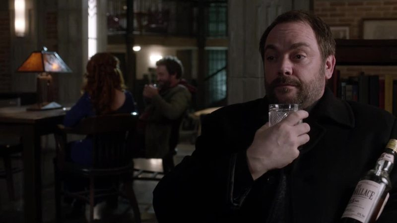 """""""So glad the world is ending"""" I love Crowley and his sarcasm"""