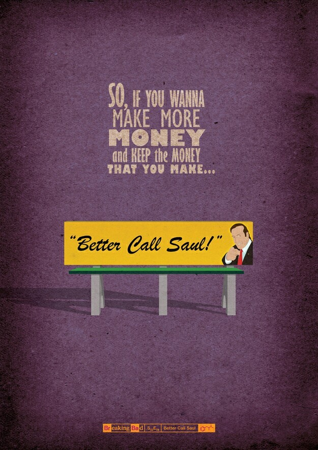 """""""Better Call Saul"""" hahaha this guy is so funny"""