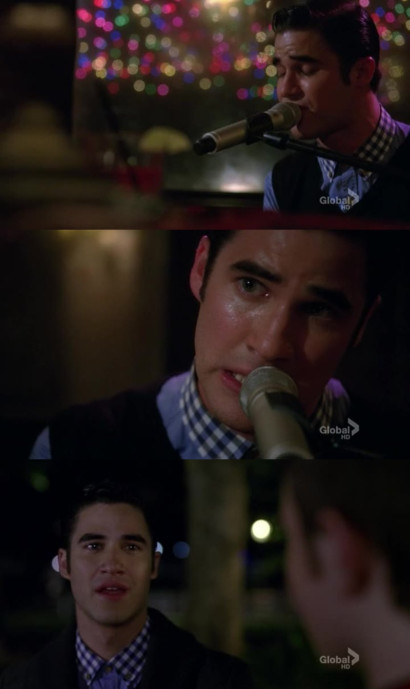 Whooua, when Blaine sing in accoustics 😍💔😍💔😍💔😍