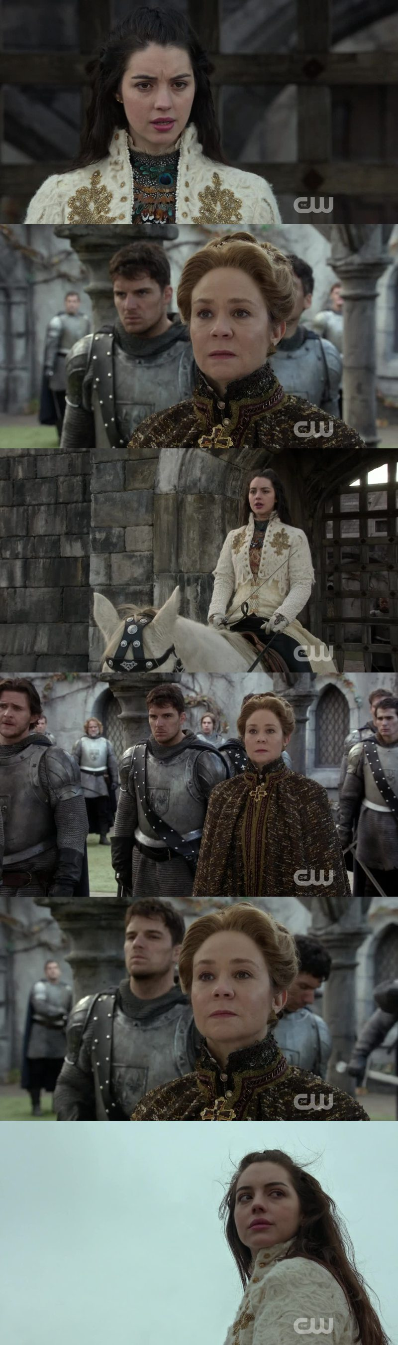 Yes their alliance made a long long way. When I think they first disliked each other, I can't believe it. Mary was such a cutiepie coming Back to help Catherine. I bet the regent never had such kindness in her entire life. This scene completely had my heart melt. I love them both.