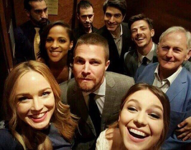 Let's hope this crossover can make Arrow better...