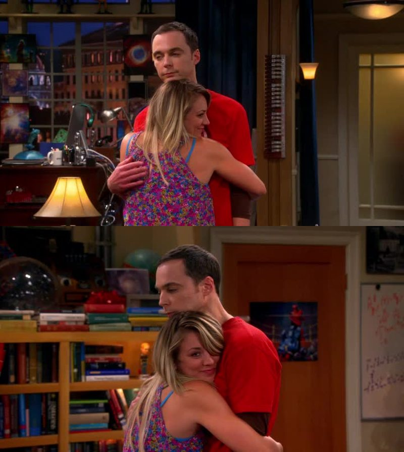I just love the relationship between Sheldon and Penny. So sweet.