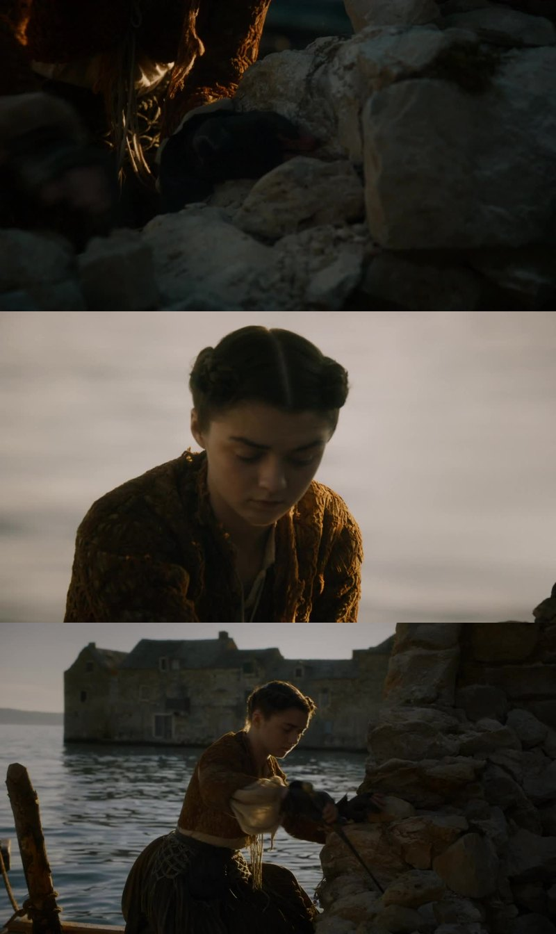 THE GIRL HAS A NAME AND IT'S ARYA FUKING STARK!!!