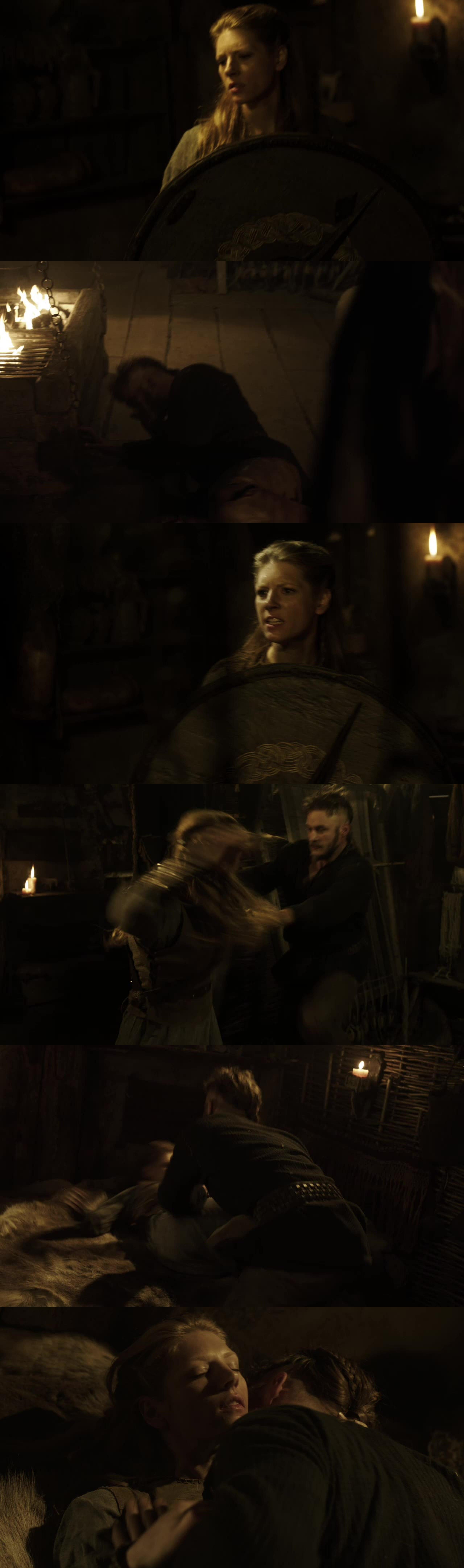 Lol viking's idea of foreplay