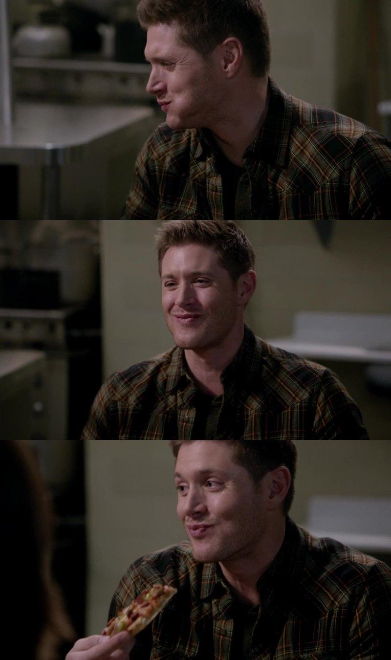 Dean looked so happy, it makes me happy