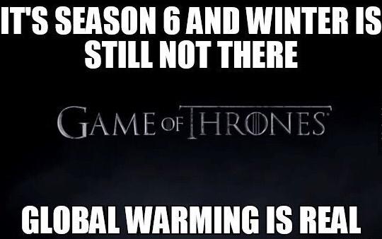 6 Seasons! Give us winter already!