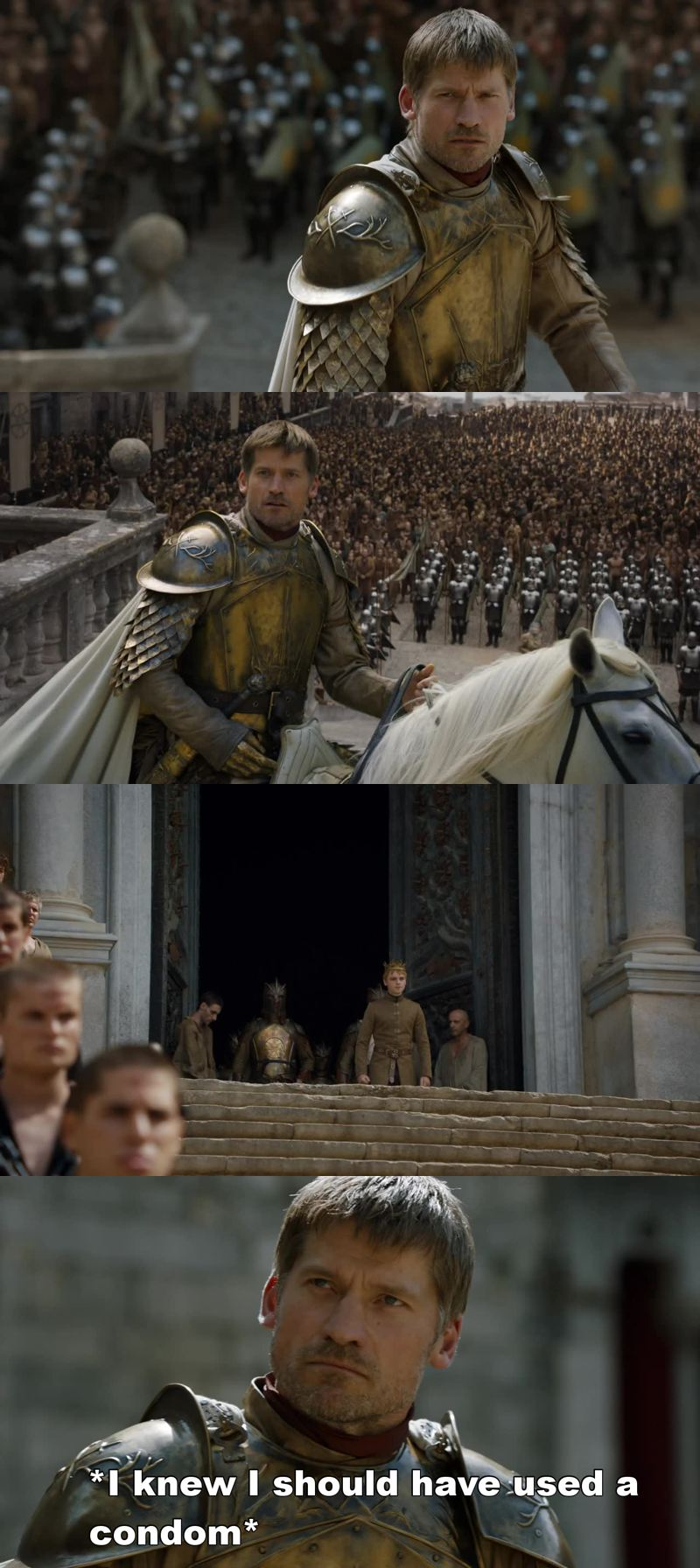Really Tommen? You fuckin' DUMBASS!