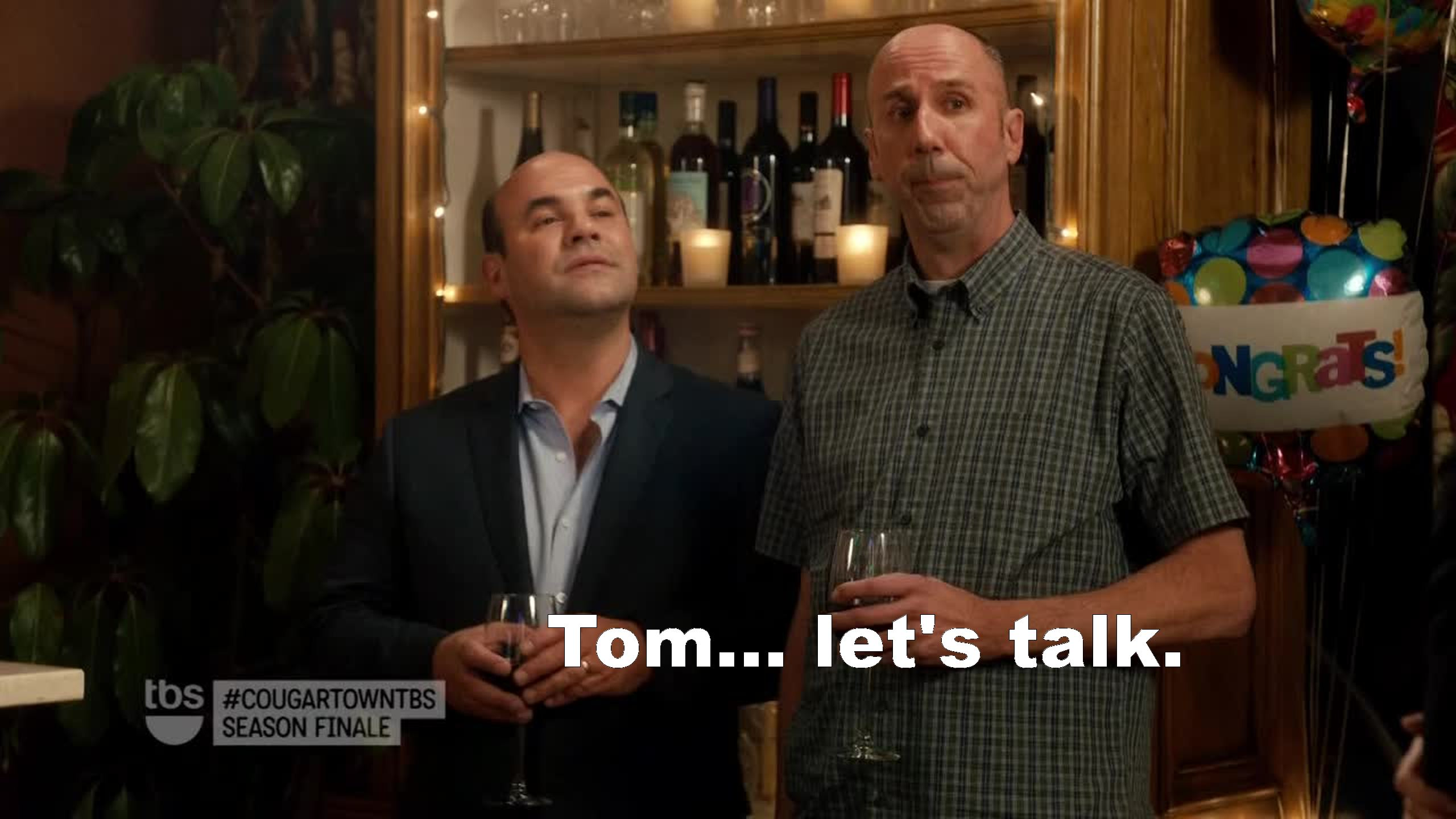Tom's a millionaire!!! Does this mean more wine?