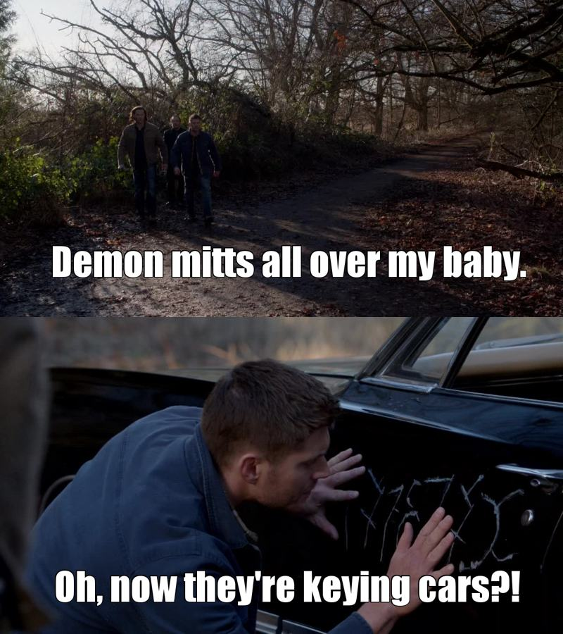 RELATIONSHIP GOALS: DEAN AND THE IMPALA