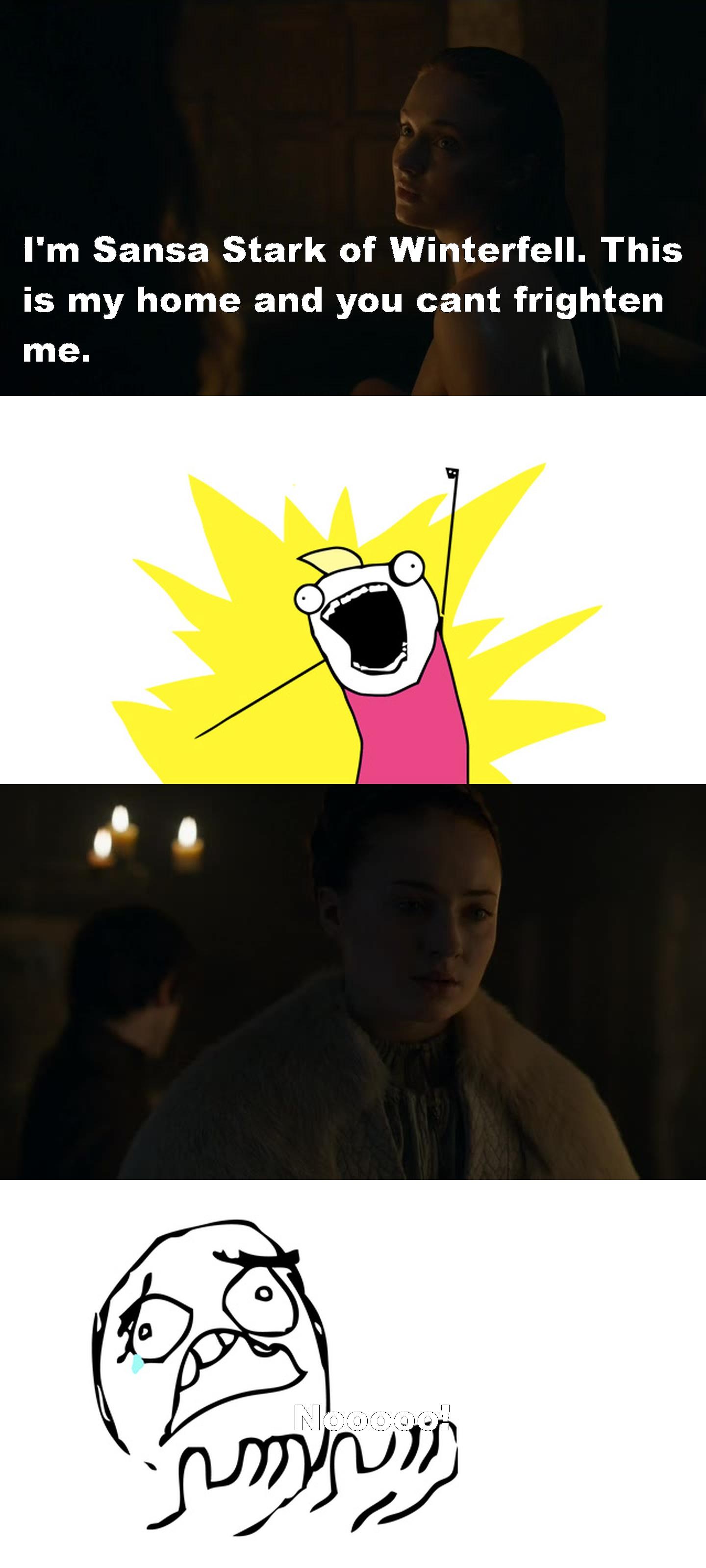 Nooooo Sansa!