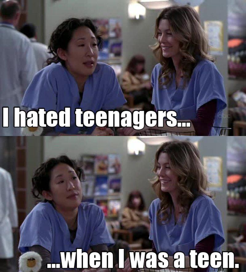 Same Cristina, same...