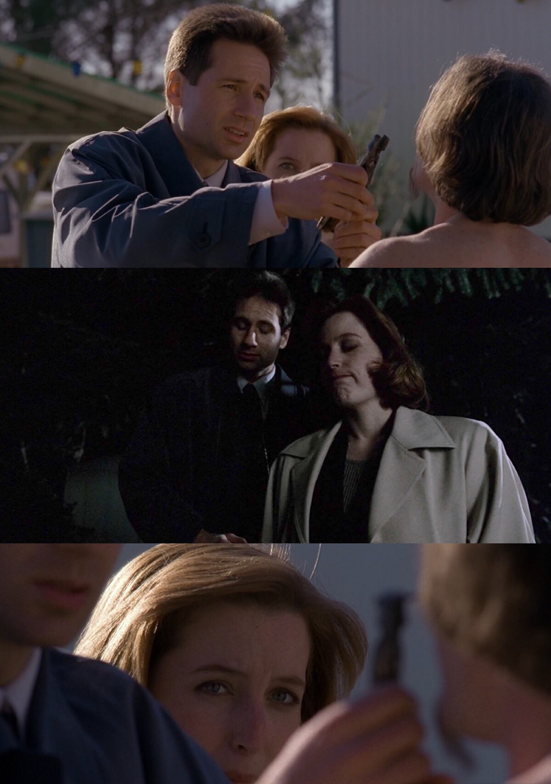 A little bit light and funny episode, nice escape from governement cospiracy and Mulder and Scully's funny face in front of all the strange things they see through all the episode are precious