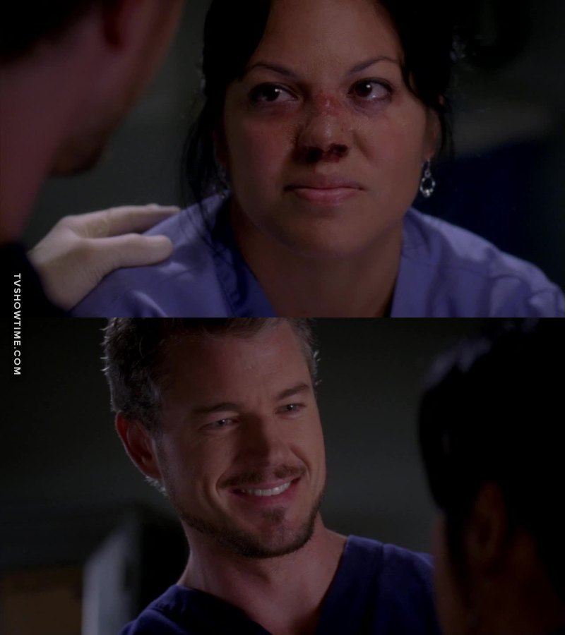I love the relationship between Mark and Callie