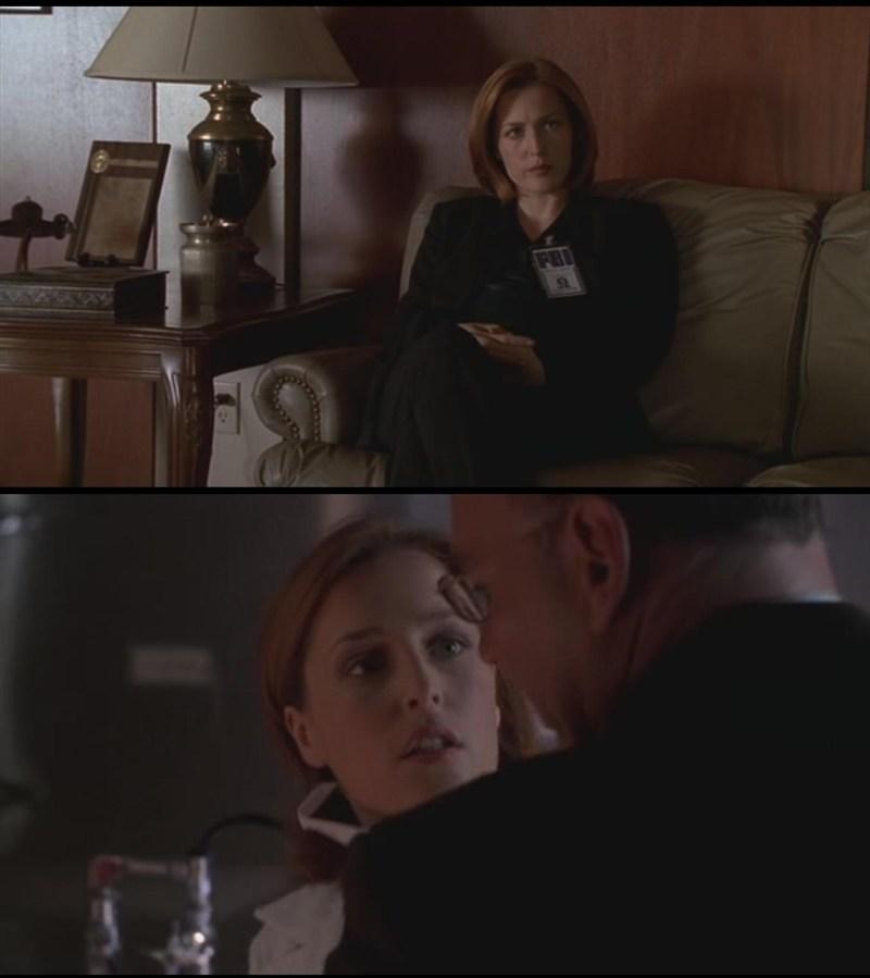 Ma quant'è carino Skinner che si preoccupa sempre per Scully? *-*