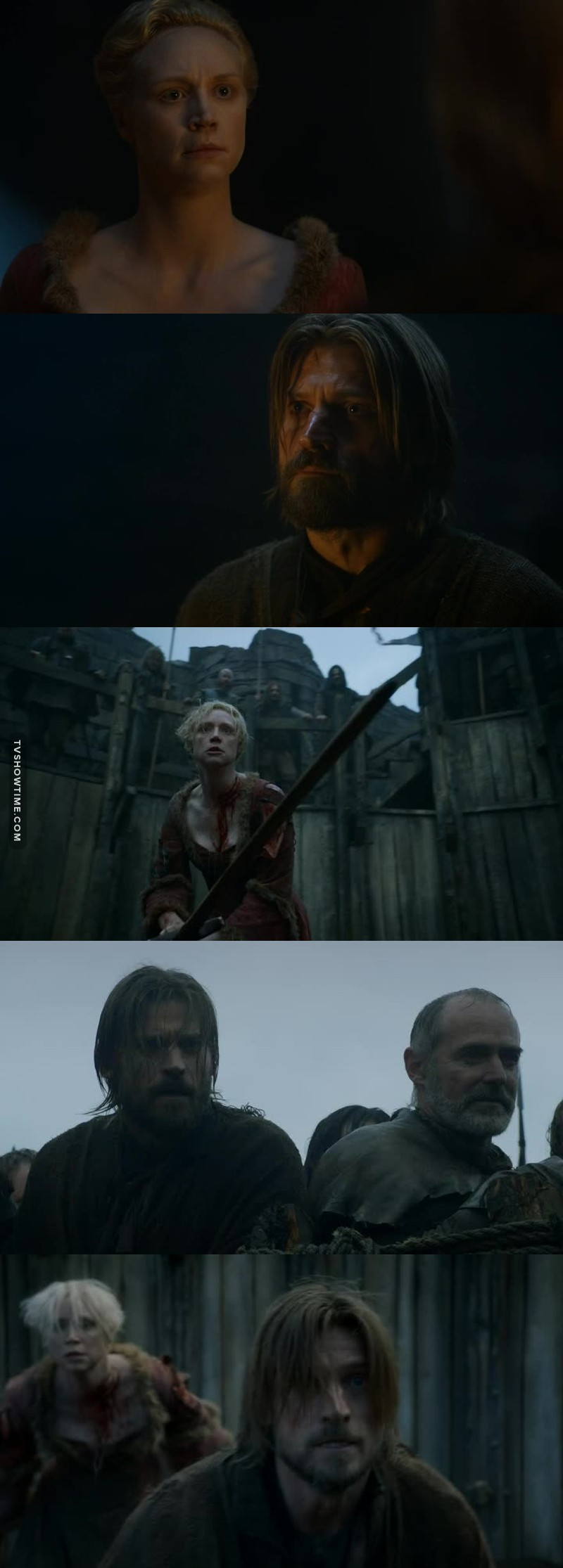 I used to hate Jaime but now he's starting to become one of my favorites. Jaime and Brienne are amazing together