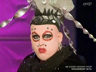 I was so happy that Shangela was finally sent home and then this was my face when RuPaul said someone is coming back: