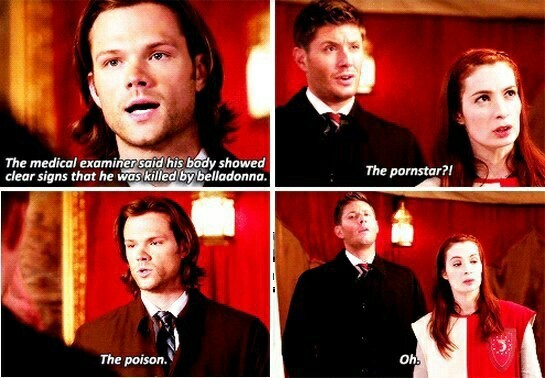 😂😂😂😂😂 Dean and charlie are so similar