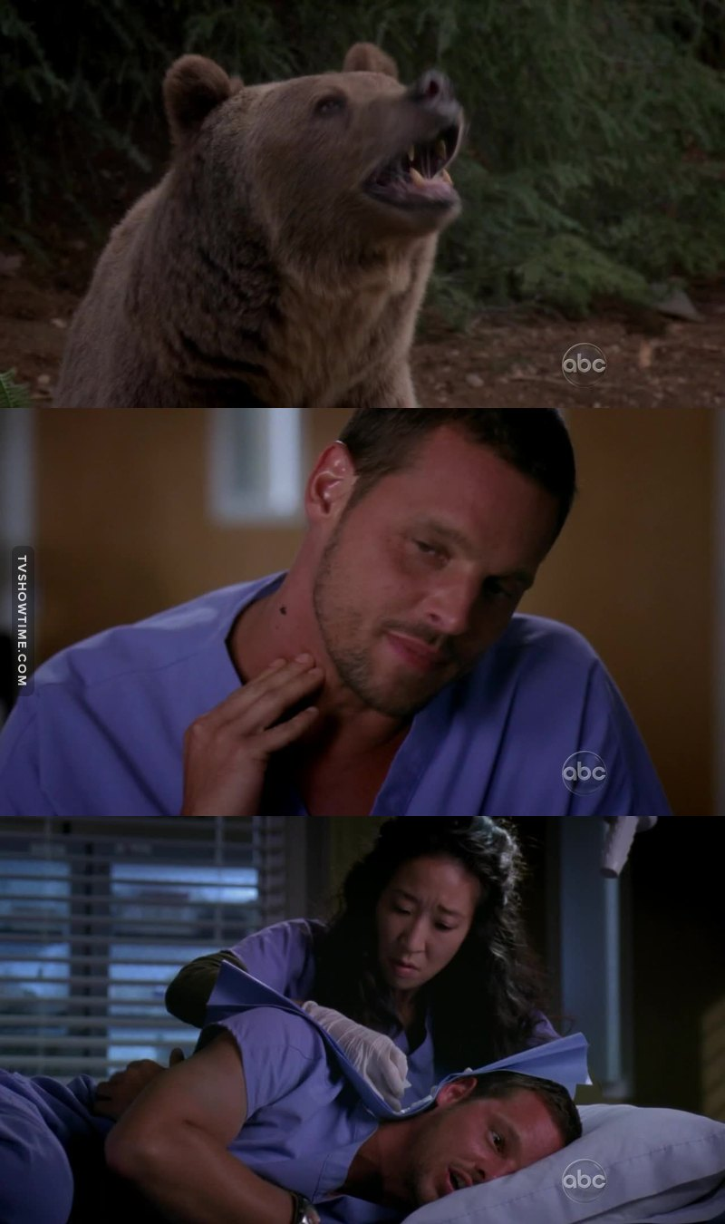 I think Karev is done with nature