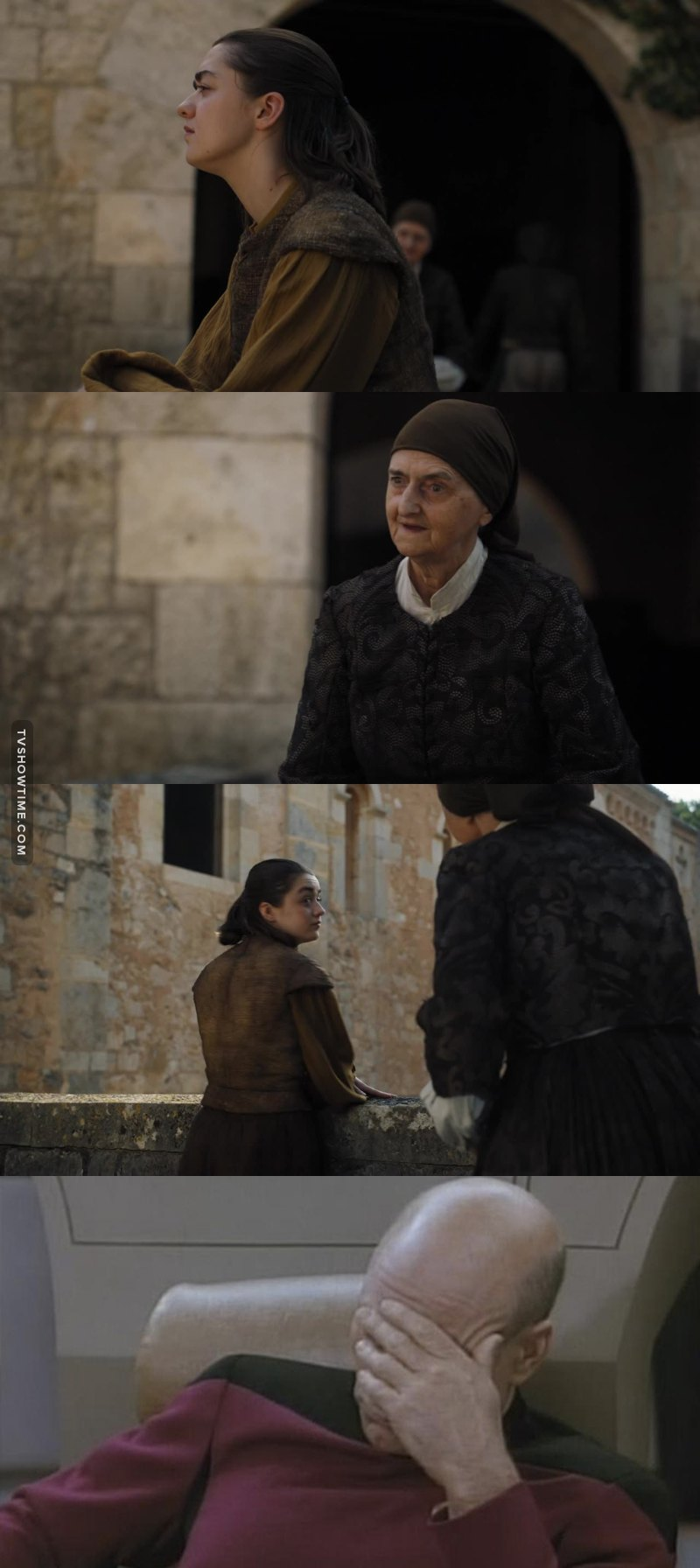 Am I the only one who saw that coming ? Damn it arya you're smarter than that !!!