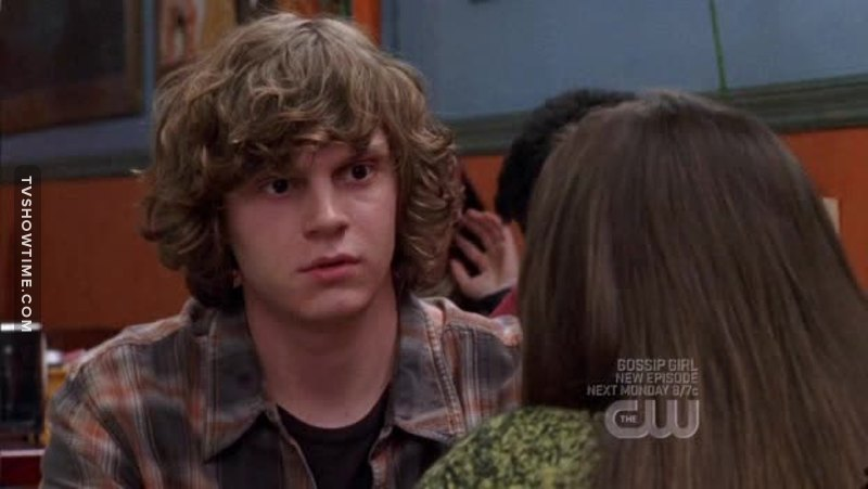 fetus Evan Peters 💕