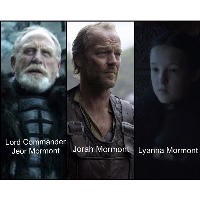 It's official, my favorite House thus far is House Mormont!