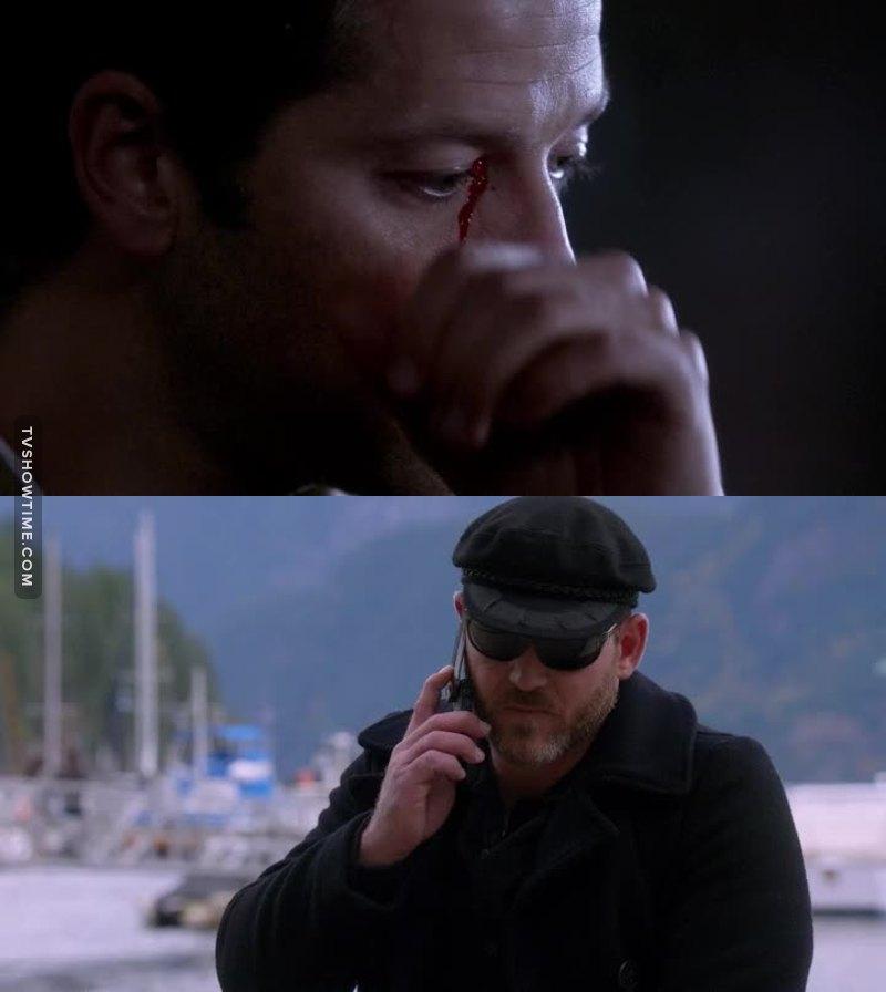 Poor Cas and poor Benny.