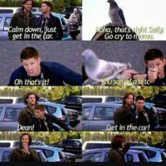 Ahaahahaha dean  This episode is so funny 😂😂😂